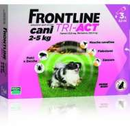 FRONTLINE TRI-ACT XS (2-5 KG) - 1 PIPETA
