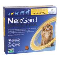 NEXGARD Spectra Dog Caine S (3.5-7.5kg) 19mg - 3 Comprimate