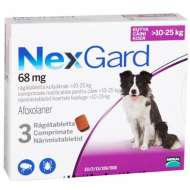 Nexgard Large Dog Caine 68Mg (10-25Kg) - 3 Comprimate Masticabile