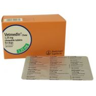 VETMEDIN 1.25 MG - 50 TABLETE MASTICABILE