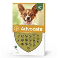 ADVOCATE 40 CAINE (0 - 4 KG) -  3 PIPETE