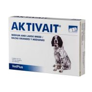 AKTIVAIT MEDIUM AND LARGE BREED - 60 CAPSULE