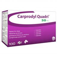CARPRODYL QUADRI 50 MG - 100 COMPRIMATE BLISTER