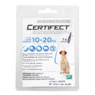 CERTIFECT Caine Dog M (10-20 kg) - 1 Pipeta