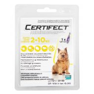 CERTIFECT Caine Dog S (2-10 kg) - 1 Pipeta