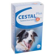 CESTAL PLUS DOG FLAVOUR - 2 TABLETE