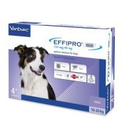 EFFIPRO DUO DOG M 134 MG (10 - 20 KG) - 4 PIPETE