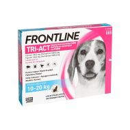 FRONTLINE TRI-ACT M (10-20 KG) - 3 PIPETE