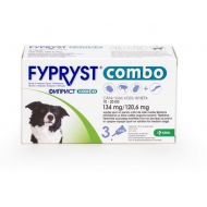 FYPRYST COMBO CAINE DOG M 134 MG (10-20 KG) - 3 PIPETE