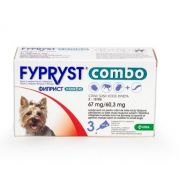 FYPRYST COMBO CAINE DOG S 67 MG (2-10 KG) - 3 PIPETE