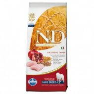 N&D LOW GRAIN Pui si Rodie Adult Maxi 12 kg
