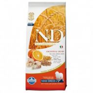 N&D LOW GRAIN Peste si Portocale Adult Maxi 12 kg