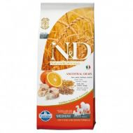 N&D LOW GRAIN Peste si Portocale Adult Medium 12 kg