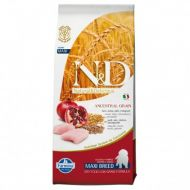 N&D LOW GRAIN Pui si Rodie Puppy Maxi 12 kg