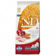 N&D LOW GRAIN Pui si Rodie Adult Medium 12 kg