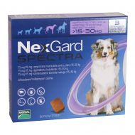 NEXGARD Spectra Dog Caine L (15-30kg) 75mg - 3 Comprimate