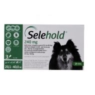 SELEHOLD DOG 240 MG / ML (20.1 - 40 KG) 3 PIPETE x 2 ML