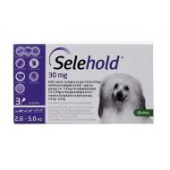 SELEHOLD DOG 30 MG / ML (2.6 - 5 KG) 3 PIPETE x 0.25 ML