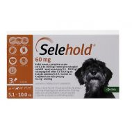 SELEHOLD DOG 60 MG / ML (5.1 - 10 KG) 3 PIPETE x 0.5 ML