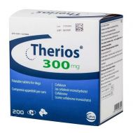 THERIOS 300 MG (CEFALEXINA) - 10 TABLETE PALATABILE