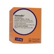 VETMEDIN 1.25 MG - 100 TABLETE MASTICABILE