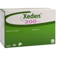 XEDEN 200 MG (ENROFLOXACINA) - 6 TABLETE PALATABILE