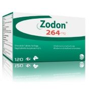ZODON 264 MG (CLINDAMICINA) - 120 TABLETE PALATABILE