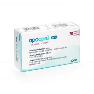 APOQUEL 5,4 MG - 20 TABLETE