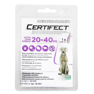 CERTIFECT Caine Dog L (20-40 kg) - 1 Pipeta