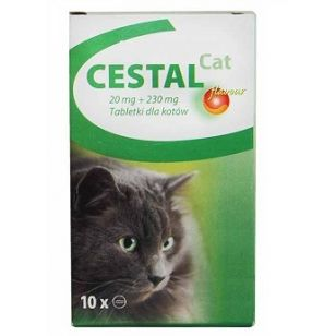 CESTAL CAT FLAVOUR - 2 TABLETE