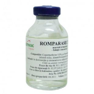 ROMPARASECT 5 % - SOLUTIE CONCENTRATA 20 ML