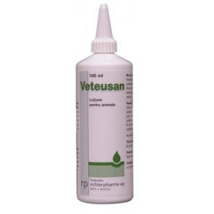 VETEUSAN - SOLUTIE ANTIMICOTICA 100ML